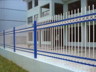 C型四横杠锌钢护栏